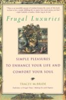 Frugal Luxuries
