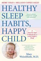 Healthy Sleep-habits, Happy Child