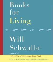 Media Cover for Books for Living [sound recording (CD)]