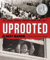 Cover of Uprooted: the Japanese Ame