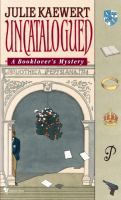 Uncatalogued : A Booklover's Mystery