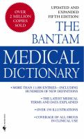The Bantam Medical Dictionary