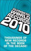 Guinness World Records, 2010