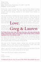 Love, Greg & Lauren
