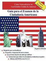 Guía para el examen de la ciudadanía americana