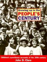 Growing Up In The People's Century