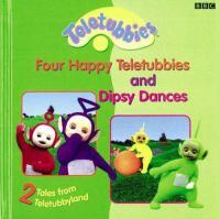 Four Happy Teletubbies