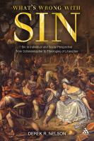 What's Wrong With Sin?