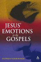 Jesus' Emotions in the Gospels