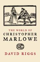 The World of Christopher Marlowe