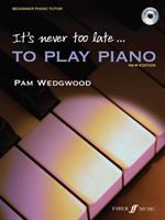 It's never too late to play piano : a learn-as-you-play tutor with interactive CD