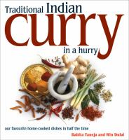 Traditional Indian Curry in A Hurry