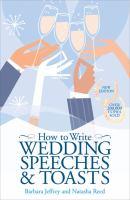 How to Write Wedding Speeches & Toasts
