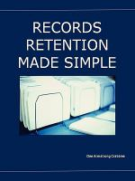 Records Retention Made Simple