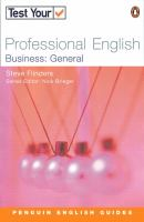 Test your Professional English