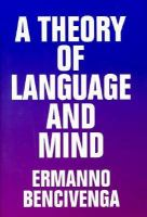 A Theory Of Language And Mind