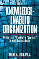 The Knowledge-enabled Organization