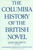 The Columbia History of the British Novel