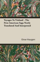 Voyages to Vinland (c. 1000)