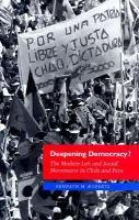 Deepening Democracy?