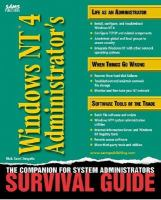Windows NT 4 Administrator's Survival Guide