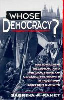 Whose Democracy?