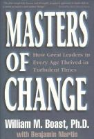 Masters of Change