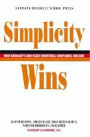 Simplicity Wins