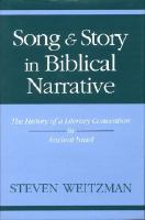 Song and Story in Biblical Narrative