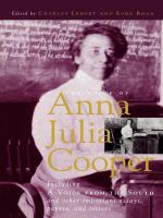 The Voice of Anna Julia Cooper