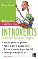 Careers For Introverts & Other Solitary Types