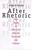 After Rhetoric