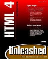 HTML 4 Unleashed