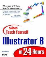 Sams Teach Yourself Illustrator 8 in 24 Hours