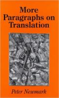 More Paragraphs on Translation