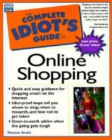 Complete Idiot's Guide to Online Shopping (Complete Idiot's Guide)