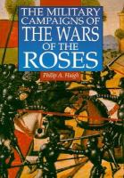 The Military Campaigns of the Wars of the Roses