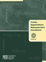 Public Expenditure Management Handbook