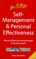 Self-management & Personal Effectiveness