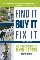 Find It, Buy It, Fix It