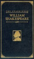 The Unabridged William Shakespeare