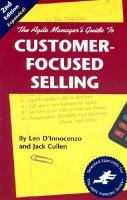 The Agile Manager's Guide To Customer-focused Selling