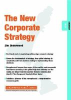 The New Corporate Strategy