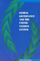 Global Governance and the United Nations System