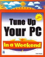 Tune up your PC in A Weekend