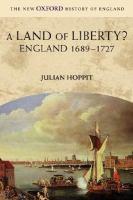 A Land of Liberty?