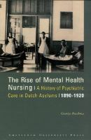 The Rise of Mental Health Nursing