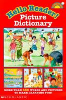 The Hello Reader! Picture Dictionary