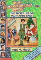 The Secret Life of Mary Anne Spier