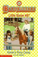 Karen's Pony Camp